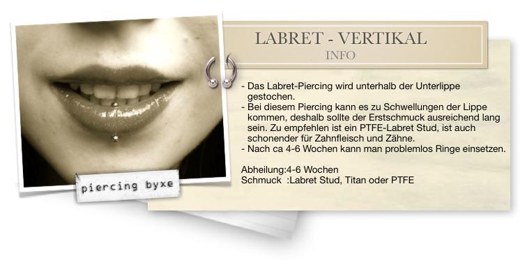 labret piercing heilung