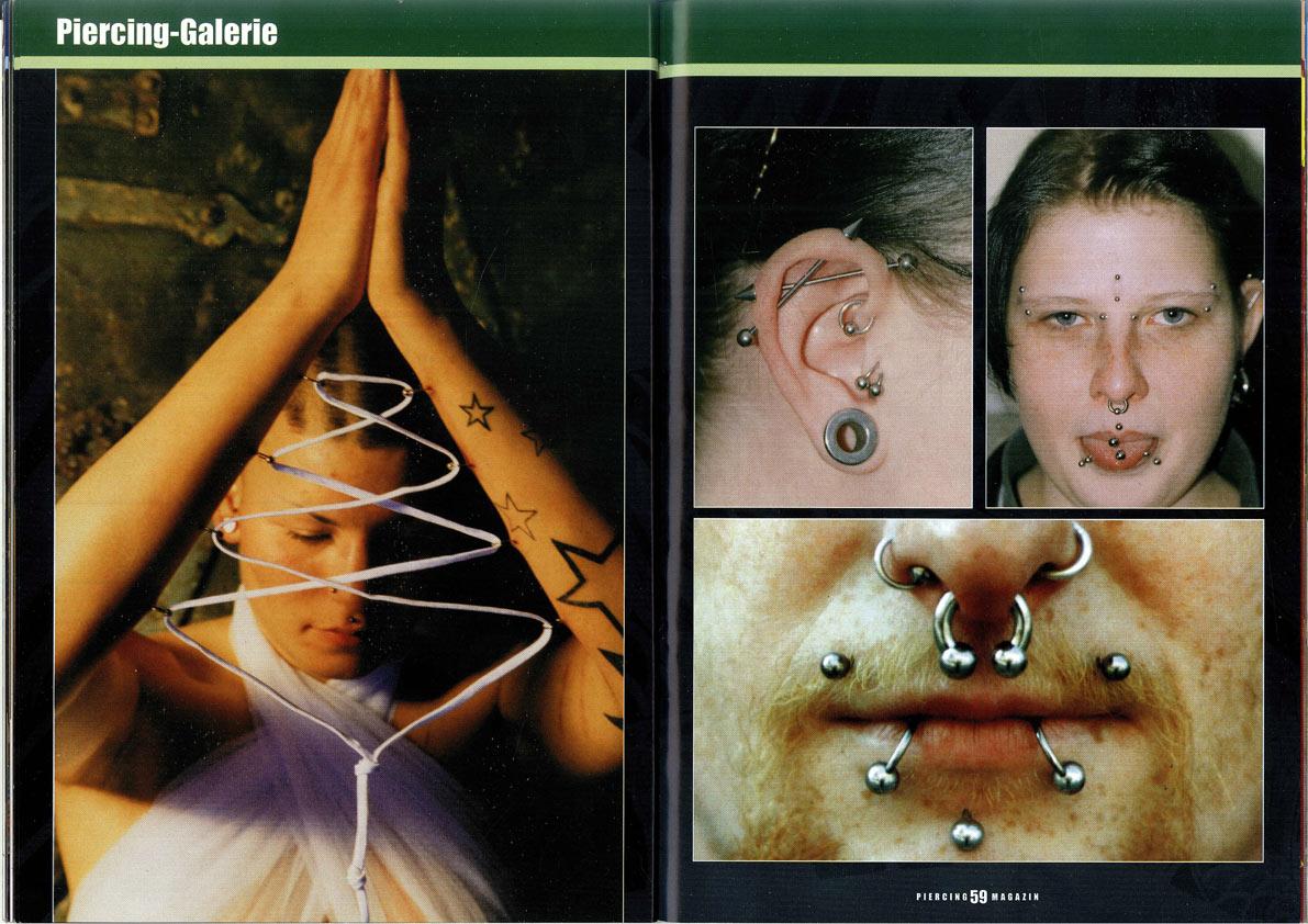 Artikel im Piercing Magazin 2004