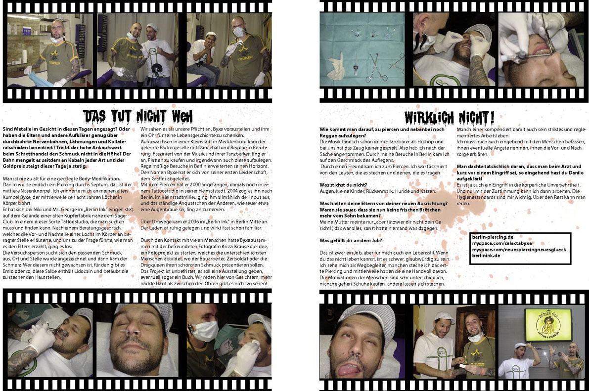 Artikel im Sleaze Magazin 2008